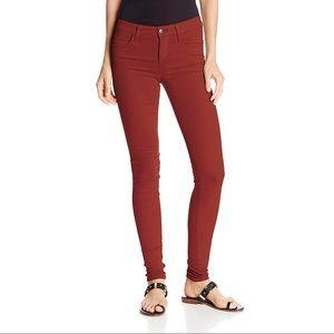 Joes jeans, skinny, deep red, 27